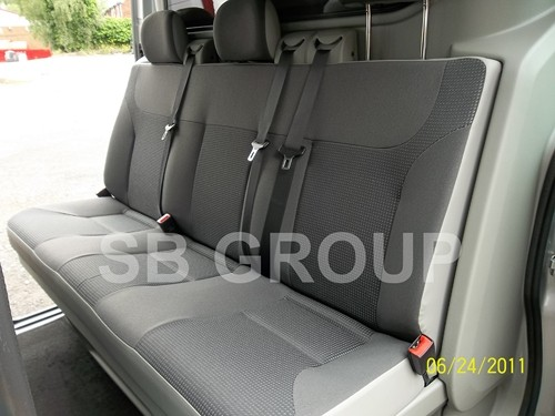 Renault Trafic Crew Cab Old Shape Up To 2014 Seat Covers